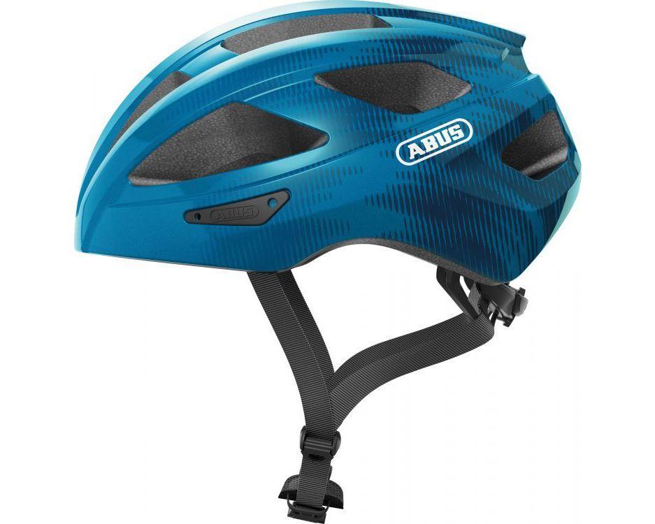 Шолом велосипедний ABUS MACATOR S 51-55 Steel Blue