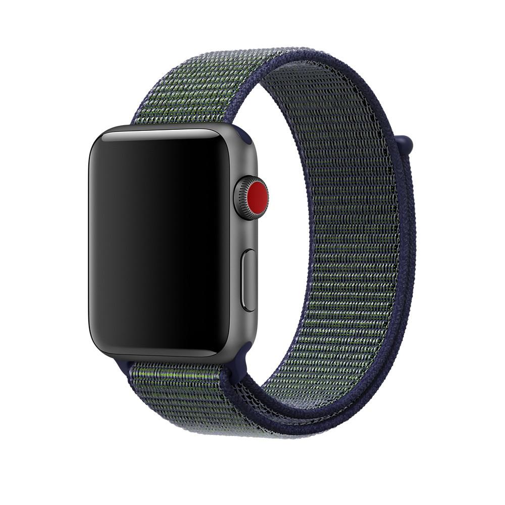 Ремешок для Apple Watch 42/44mm Sport Loop Nike Midnight Fog