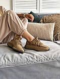 Женские кроссовки Adidas Yeezy Boost 350 в стиле Адидас Изи Буст КОРИЧНЕВЫЕ (Реплика ААА+), фото 2