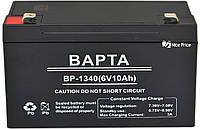 Свинцово-кислотный аккумулятор батарея ВАРТА BP-1340 6V 10A