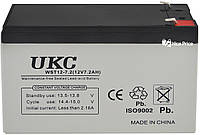 Свинцово-кислотный аккумулятор батарея UKC WST12-7.2 12V 7.2A Grey (1884)