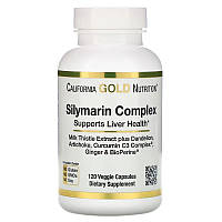 Силимариновый комплекс (расторопша) 360  капсул / Silymarin Complex California Gold Nutrition 360 caps.