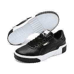 Кроссовки женские оригинальные Puma Cali кожаные черные 37