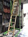 Чердачная лестница деревянная Fakro LWK Komfort H 305 60х130, фото 3