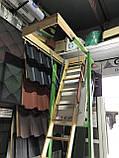 Чердачная лестница деревянная Fakro LWK Komfort H 305 60х130, фото 5