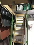 Чердачная лестница деревянная Fakro LWK Komfort H 305 60х130, фото 7