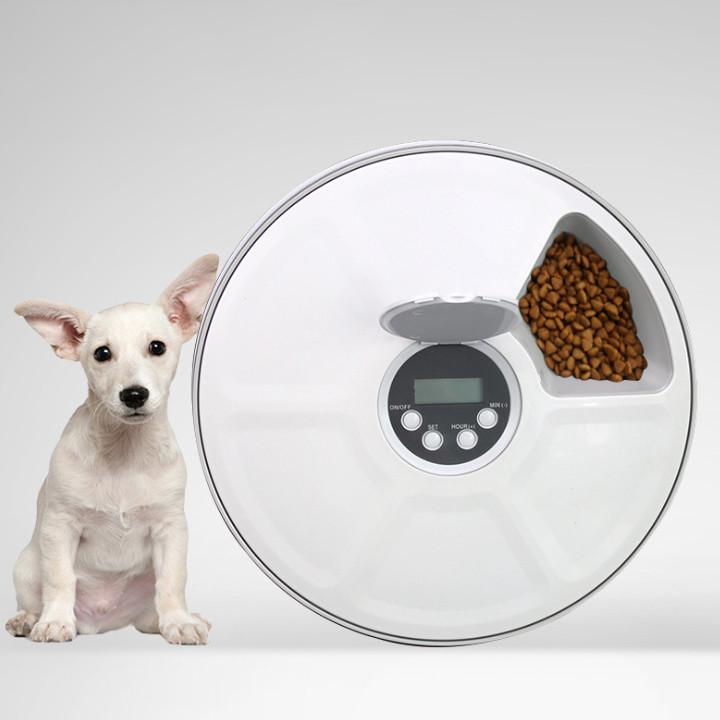 Умная автоматическая кормушка для животных с таймером