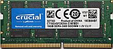 Память для ноутбука SODIMM DDR4 16GB 2400 MHz Micron Crucial CT16G4SFD824A