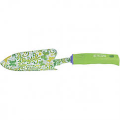 Совок посадочный широкий, 80 х 330 мм, стальной, пластиковая рукоятка, Flower Green Palisad