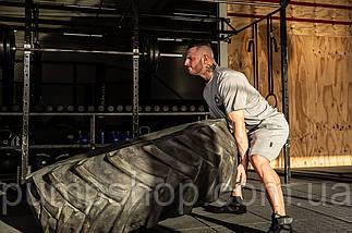 Мужские спортивные шорты Gorilla Wear Forbes Shorts серые XXL, фото 3