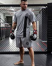 Мужские спортивные шорты Gorilla Wear Forbes Shorts серые XXL, фото 2