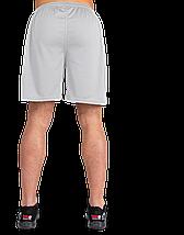 Чоловічі спортивні шорти Gorilla Wear Forbes Shorts сірі XXL, фото 3