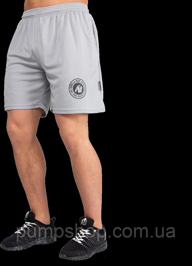 Мужские спортивные шорты Gorilla Wear Forbes Shorts серые XXL