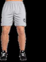 Чоловічі спортивні шорти Gorilla Wear Forbes Shorts сірі XXL, фото 2