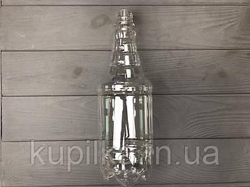 Бутылка ПЭТ граната прозрачная 1 л.
