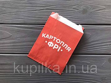 Упаковка для картофеля фри большая (150-200г) 400Ф