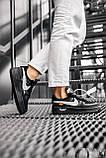 Стильные кроссовки Nike Air Force x Off-White BLACK, фото 7