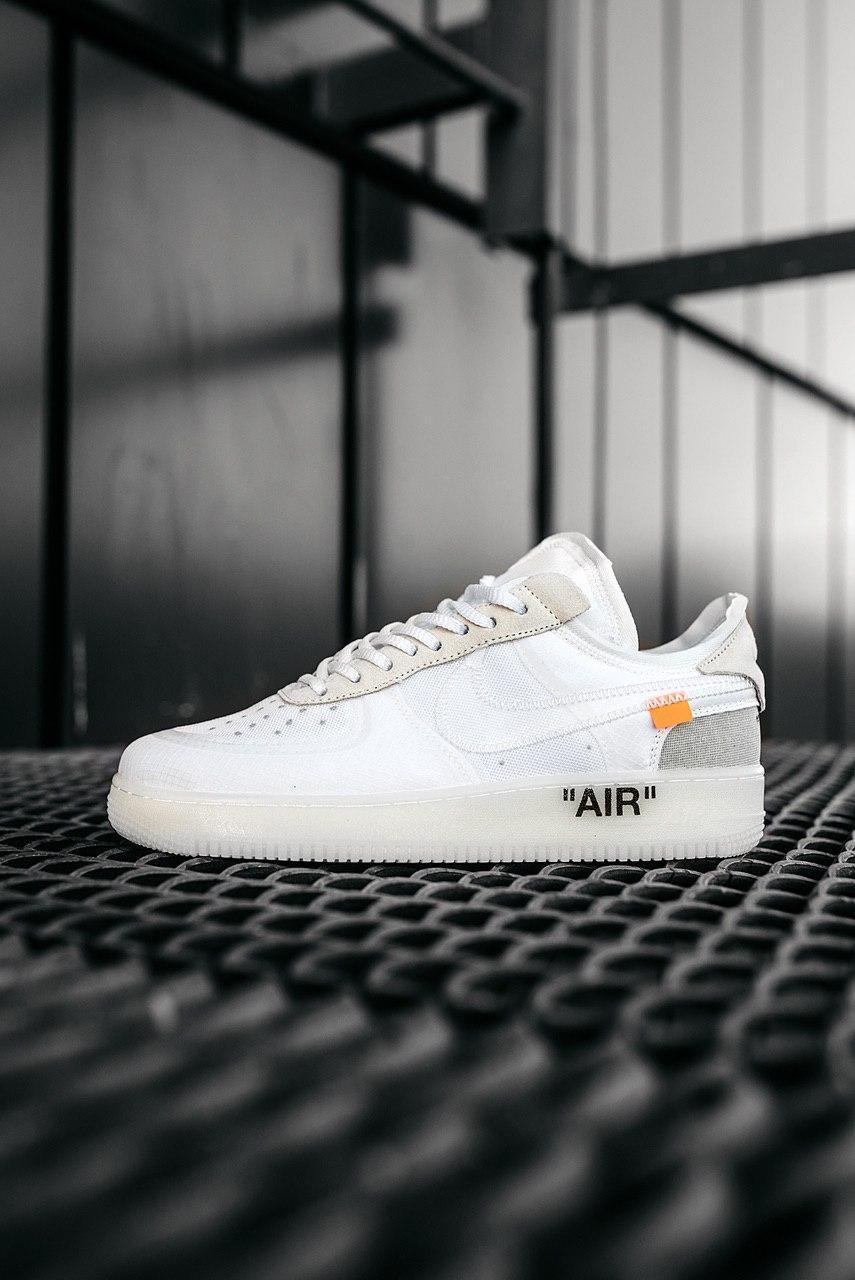 Стильные кроссовки Nike Air Force x Off-White WHITE