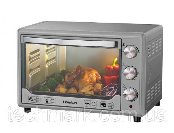 Электродуховка Электрическая печь LIBERTON LEO-481 Silver (48л)