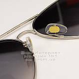 Мужские солнцезащитные очки Ray Ban Aviator RB 3026 Авиаторы зеркальные линзы Брендовые Рей Бан 3025 реплика, фото 5