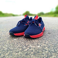 Мужские летние кроссовки синие