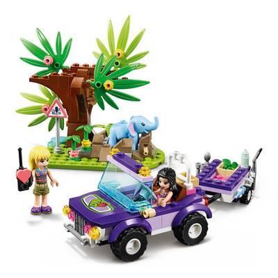 Конструктор LEGO Friends Спасение слоненка в джунглях (41421)