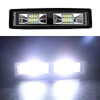 Світлодіодна LED Фара 12-24v 20W DRL Додаткове ближнє світло, лампа заднього ходу