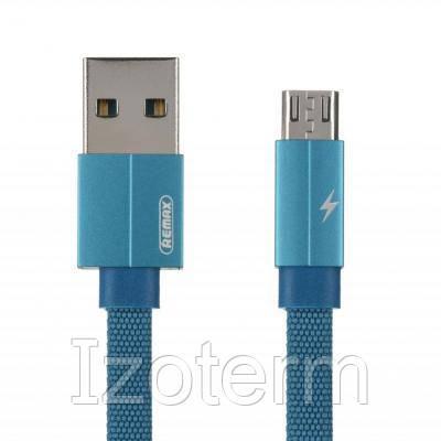 Купить Дата кабель USB 2.0 AM to Micro 5P 1.0m Kerolla blue Remax (RC-094M1M-BLUE)