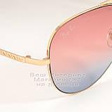 Женские солнцезащитные очки Ray Ban Aviator разноцветные розовые RB 3026 3025 Авиаторы Рей Бан реплика, фото 2