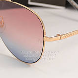 Женские солнцезащитные очки Ray Ban Aviator разноцветные розовые RB 3026 3025 Авиаторы Рей Бан реплика, фото 3