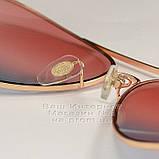 Женские солнцезащитные очки Ray Ban Aviator разноцветные розовые RB 3026 3025 Авиаторы Рей Бан реплика, фото 6
