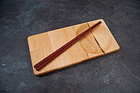Поднос для подачи суши с выборкой 290мм140мм*20мм бук