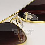 Чоловічі сонцезахисні окуляри Ray Ban Aviator RB 3026 Авіатори Авіатор Брендові Стильні Рей Бан репліка, фото 6