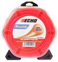 Струна косильная Round Line ECHO d-2,4 мм 12 м (круглая)