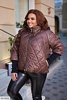 Куртка женская батальная  ED-0415