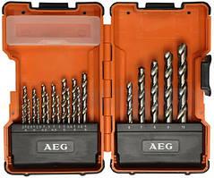 Набор сверл по металлу AEG HSS-G DIN338 (4932352243)