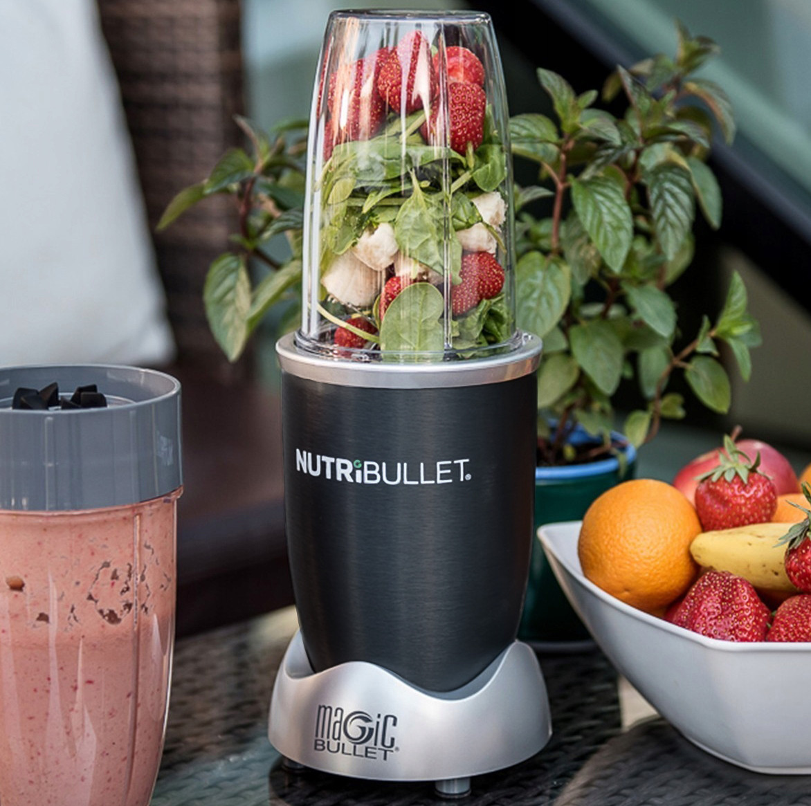 🔥 Стационарный блендер экстрактор Nutribullet 600W для фруктов и овощей