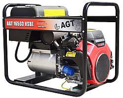 Бензиновый генератор AGT 16503 HSBE R16