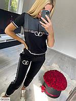 Спортивный костюм женский батал  DE-5116