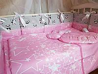 Набор детского постельного белья ТМ Bonna Elite 9 в 1 Comfort Пандочки