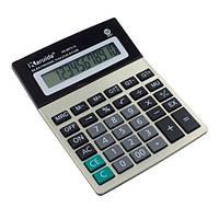 Калькулятор настольный бухгалтерский 18х14см 12-разрядный KK-8875-12, 105186
