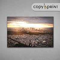Картина на холсте: Парижский вид, фото 1