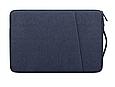 """Чохол для ноутбука 14"""" дюймів з ручкою Темно-синій, фото 2"""