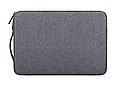 """Чехол для ноутбука 14"""" дюймов с ручкой Темно-серый, фото 3"""