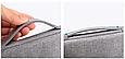 """Чехол для ноутбука 14"""" дюймов с ручкой Темно-серый, фото 6"""