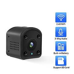 Беспроводная мини WiFi IP камера BMSOAR DH13G-1080P с батареей.AP Hotspot. BlueCam.