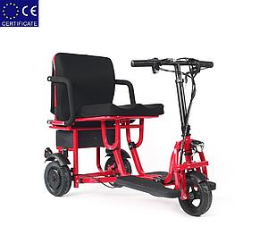 Легкий мобильный складной электроскутер для пожилых людей S-36300. Электроколяска.