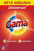 Порошок для прання Gama 3в1 Універсальний, 3.25 кг, 50 прань