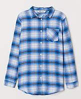 Рубашка H&M для дівчинки 0626080002 164 см (13-14 years) блакитний  60234