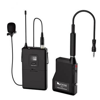 Микрофон петличный петличка беспроводной радиомикрофон Fifine K037